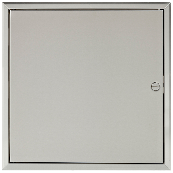 Stainless Steel Access Panel Closed