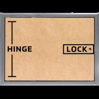 Select Hinge on Shortest Side